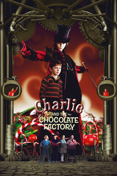 Charlie and the Chocolate Factory 2005 Movie Watch Online For Free In Hd 720p