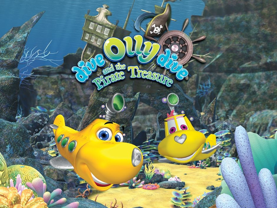 Dive Olly Dive and the Pirate Treasure 2014 Watch Online For Free