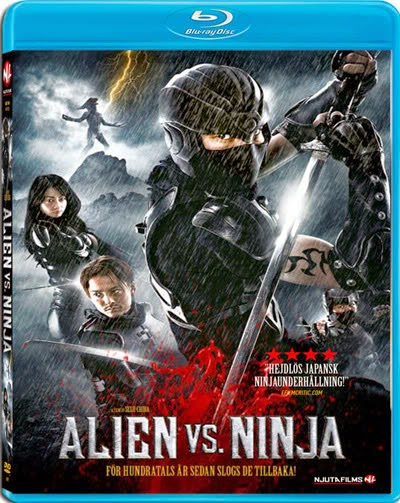 Alien vs Ninja 2010 Dual Audio 720p BluRay Free Download 300MB