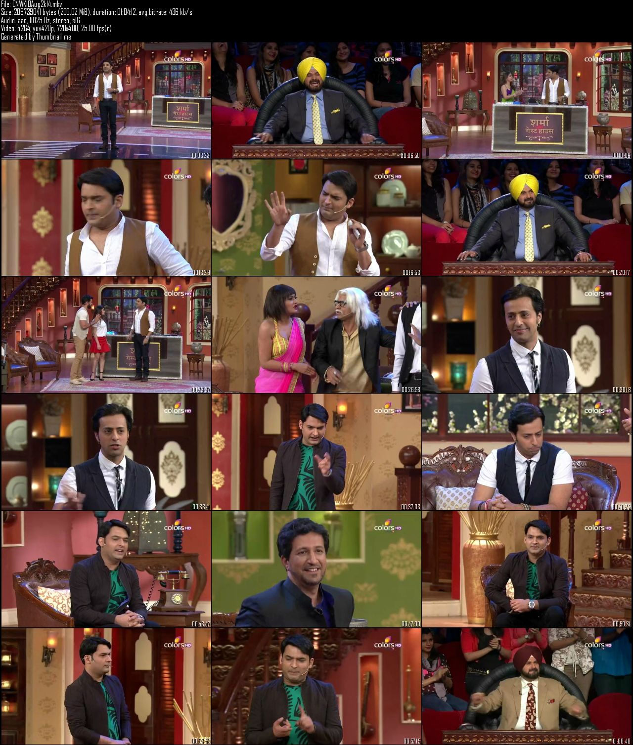 Comedy Nights With Kapil 10th August (2014)