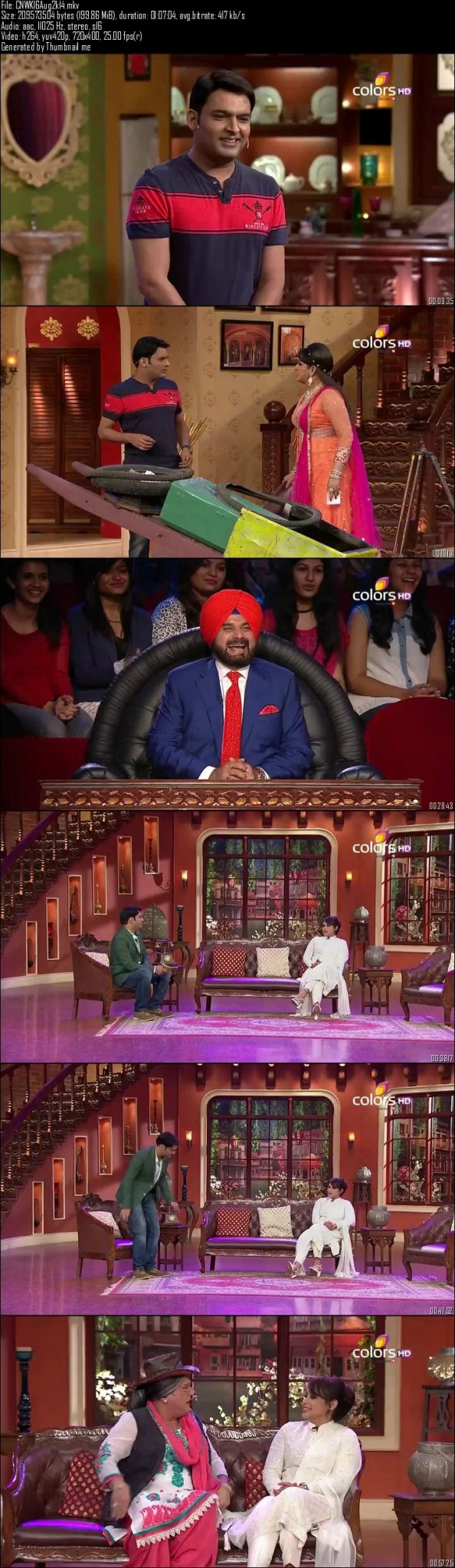Comedy Nights With Kapil 16th August (2014)
