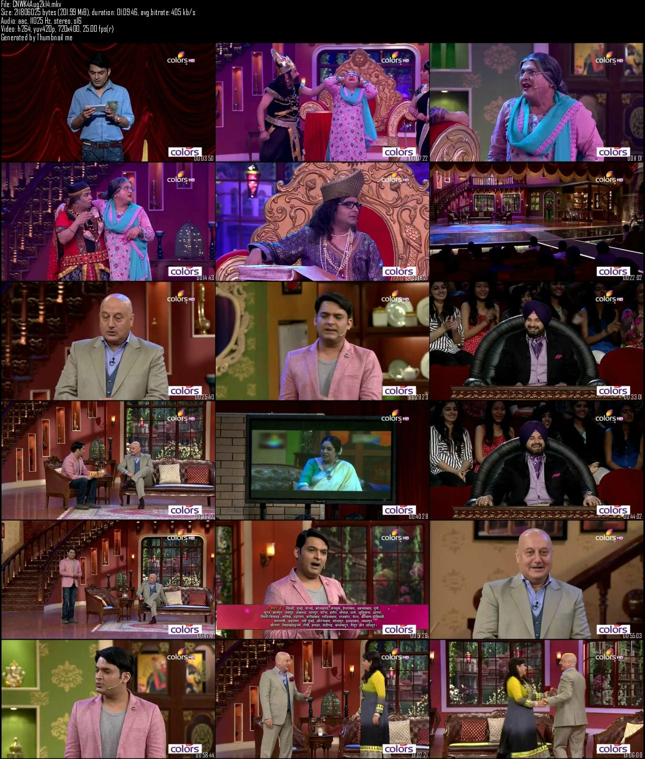 Comedy Nights With Kapil 2nd August (2014)