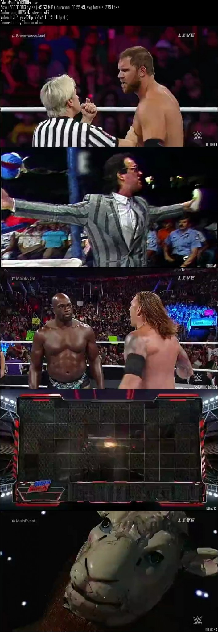 WWE Main Event 19th August (2014)