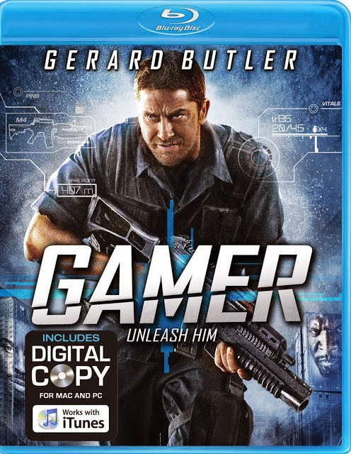 Gamer 2009 720p BluRay Hindi Dubbed Dual Audio 900MB
