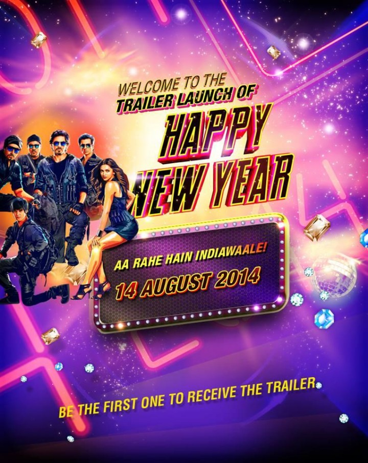 Happy New Year 2014 Movie In 300MB Free Download DVDSCR