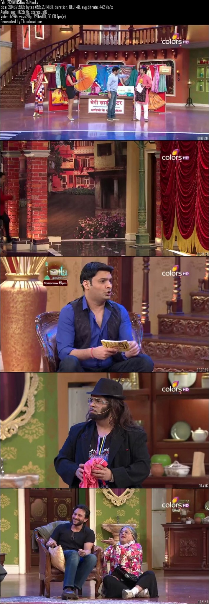 Comedy Nights With Kapil 15th November (2014)
