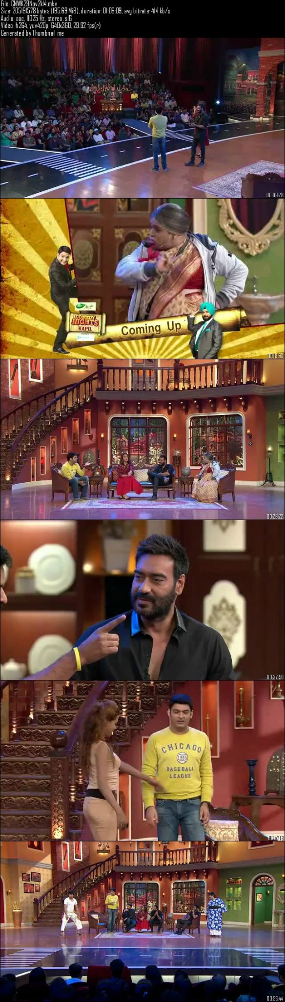 Comedy Nights With Kapil 29th November (2014)