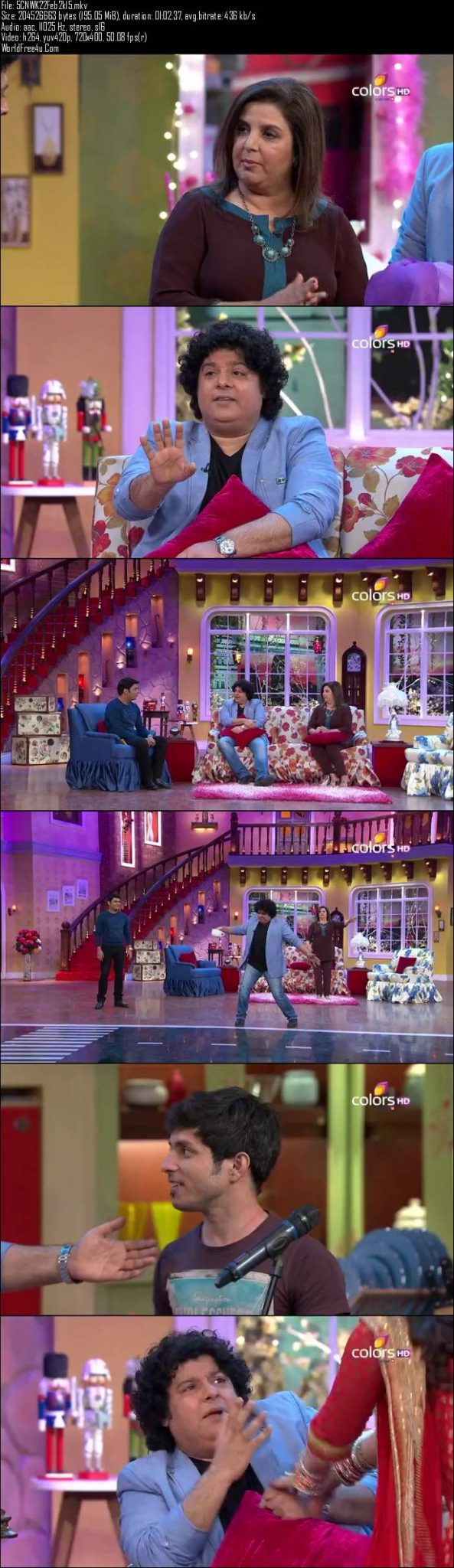 Comedy Nights With Kapil 22nd February (2015)