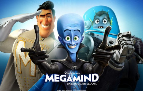 Megamind (2010) - Hindi Dubbed Movie Watch Online 300mb