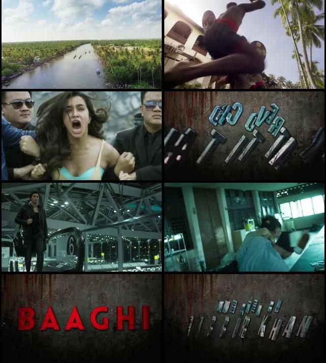 Baaghi 2016 Official Trailer 720p HD Download