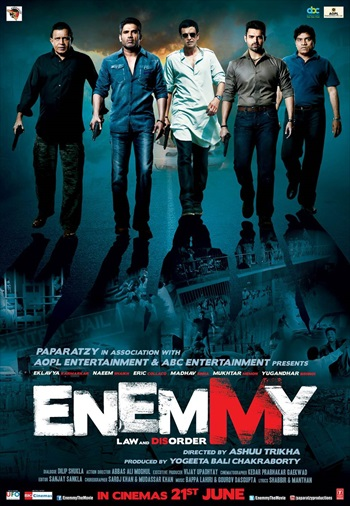 Enemmy 2013 Hindi Movie Download Full HD 250MB