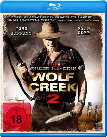 Wolf Creek 2 2013 Hindi Dubbed BluRay 300MB