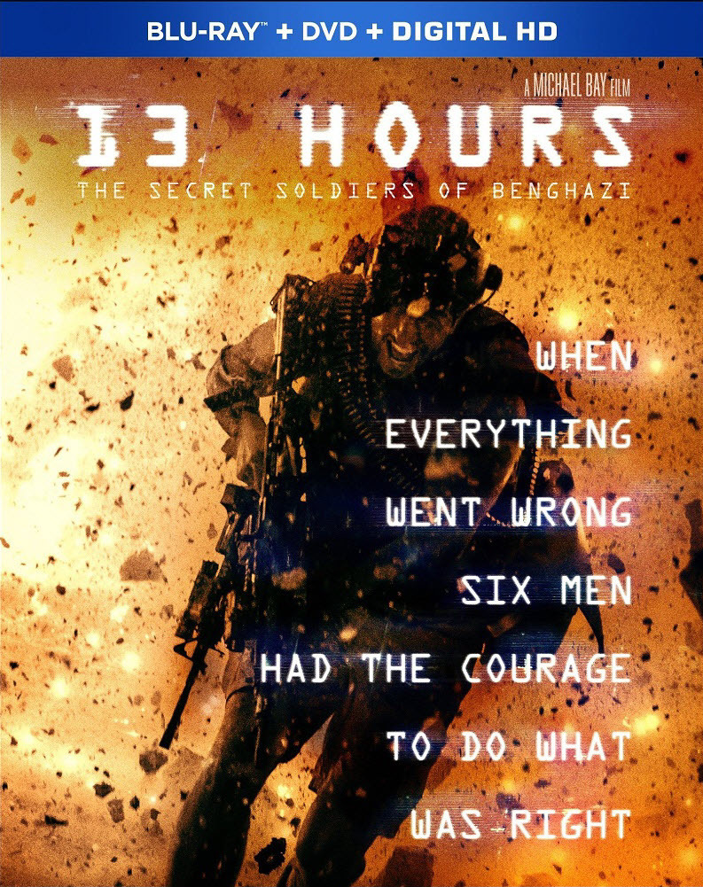 13 Hours - The Secret Soldiers of Benghazi 2016