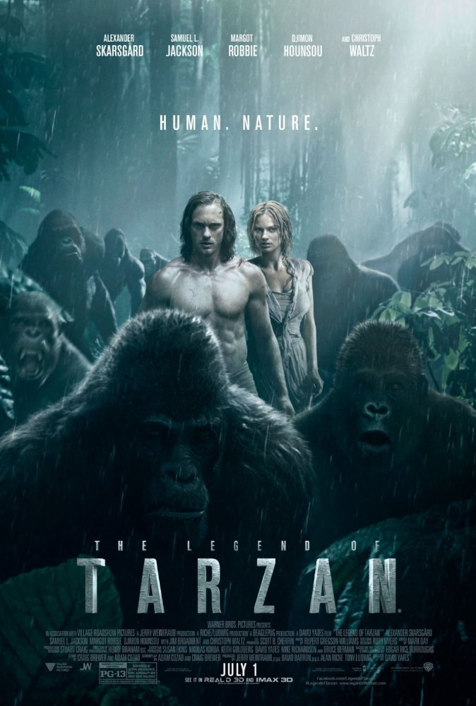 The Legend of Tarzan 2016 Hindi Dubbed DVDRIP 700MB