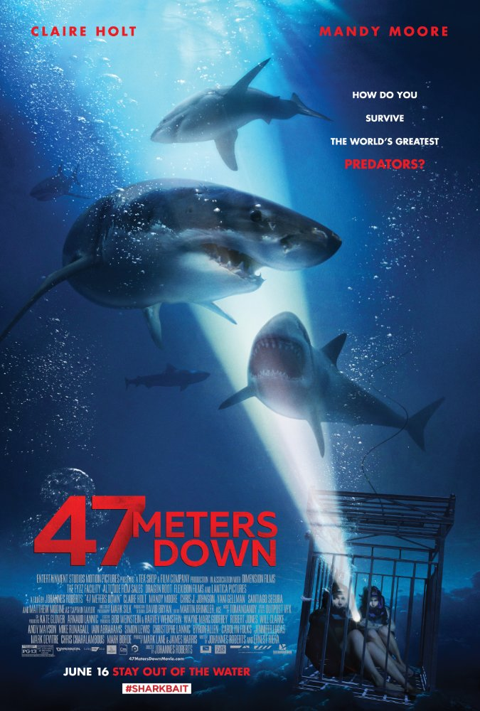 47 Meters Down (2017) English 720p.BluRay 650MB