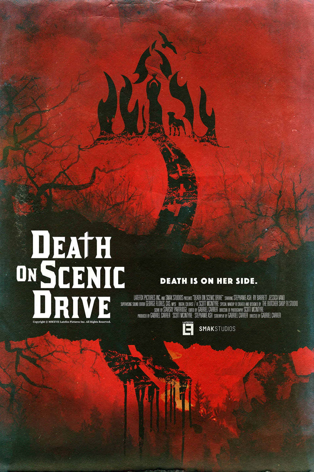 Death On Scenic Drive (2017) English DVDRIP 350MB