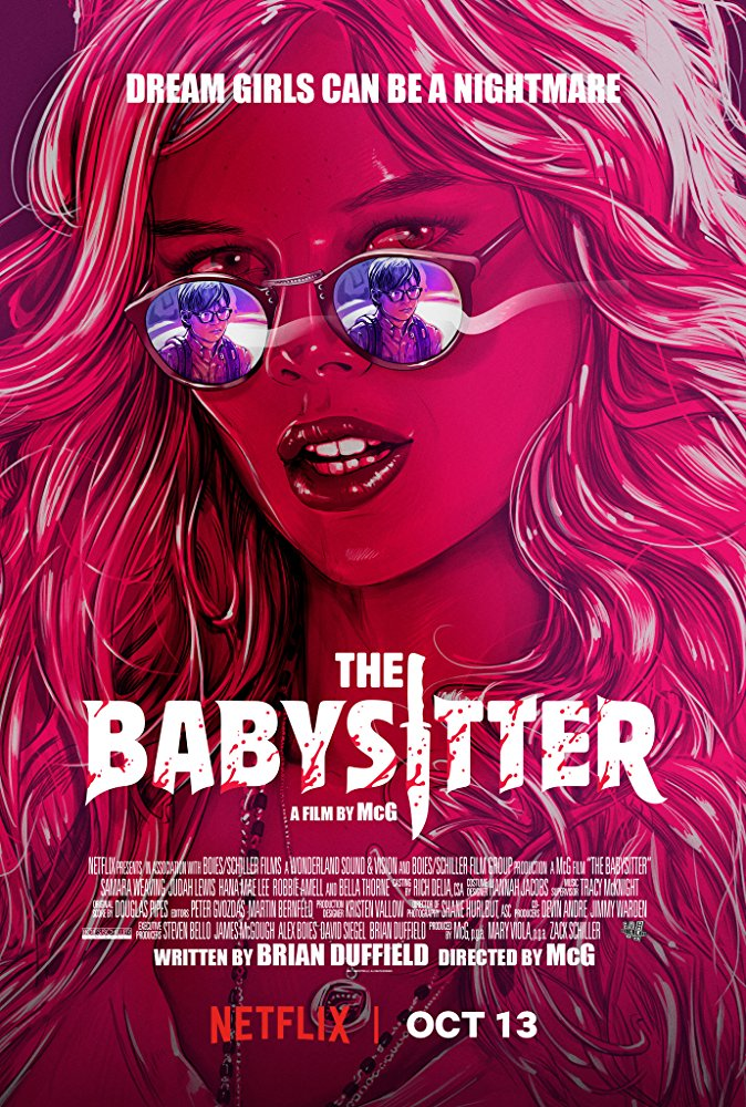 The Babysitter (2017) English 720p WEB-DL 250MB