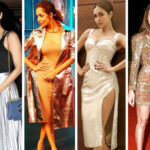 Malaika Arora has a thing or two for metallic, bling and all things shimmery!