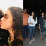 Janhvi Kapoor, Sridevi have a dinner date with PadMan director R Balki, Gauri Shinde. Are they planning a film together?