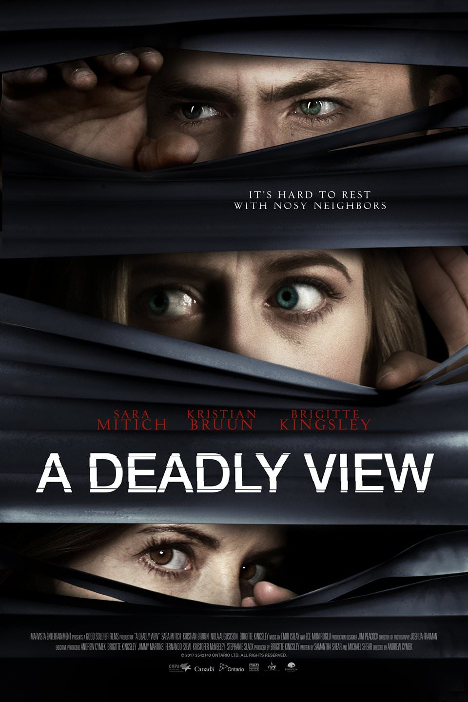 A Deadly View (2018) English HDRip 720p
