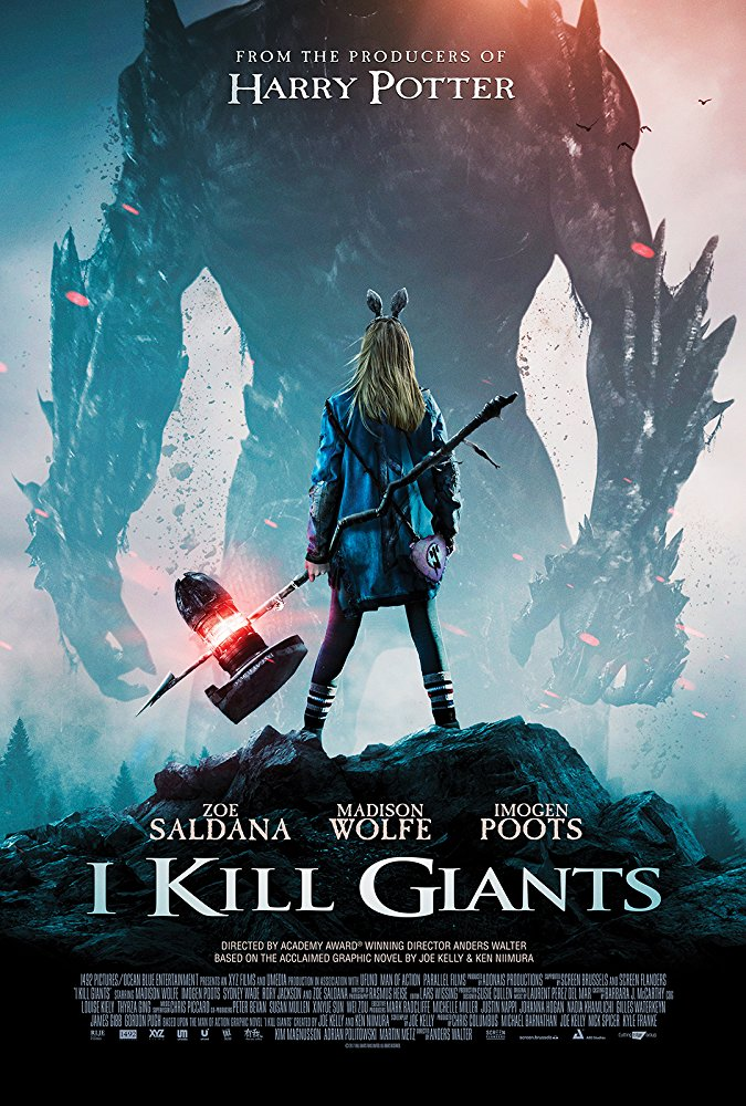 I Kill Giants (2018) English HDRip 950MB