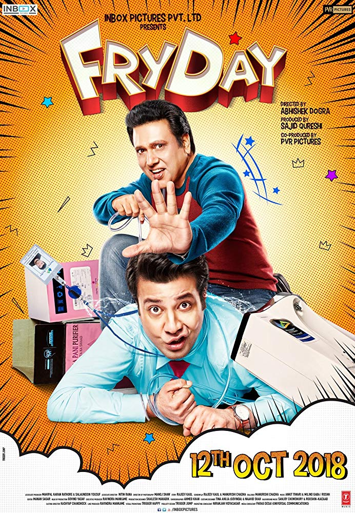 FryDay (2018) Hindi Movie CamRip 900MB