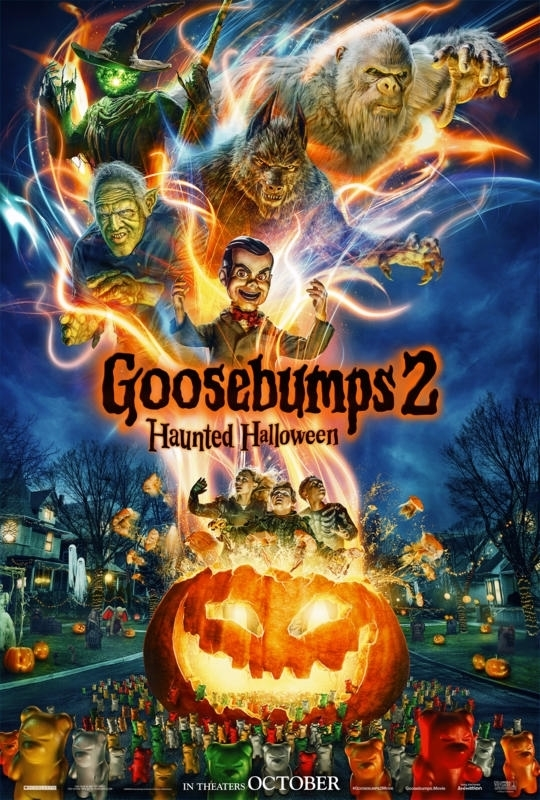 Goosebumps 2: Haunted Halloween (2018) English Movie CamRip 800MB