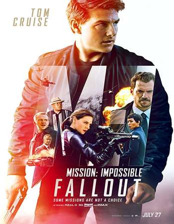 Mission Impossible Fallout 2018 Dual Audio 700MB HDRip 720p HEVC