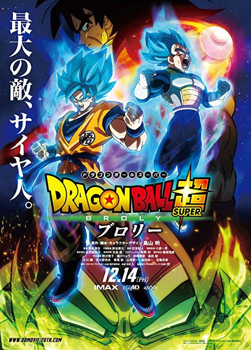 Dragon Ball Super: Broly (2019) English 300MB HDRip 480p