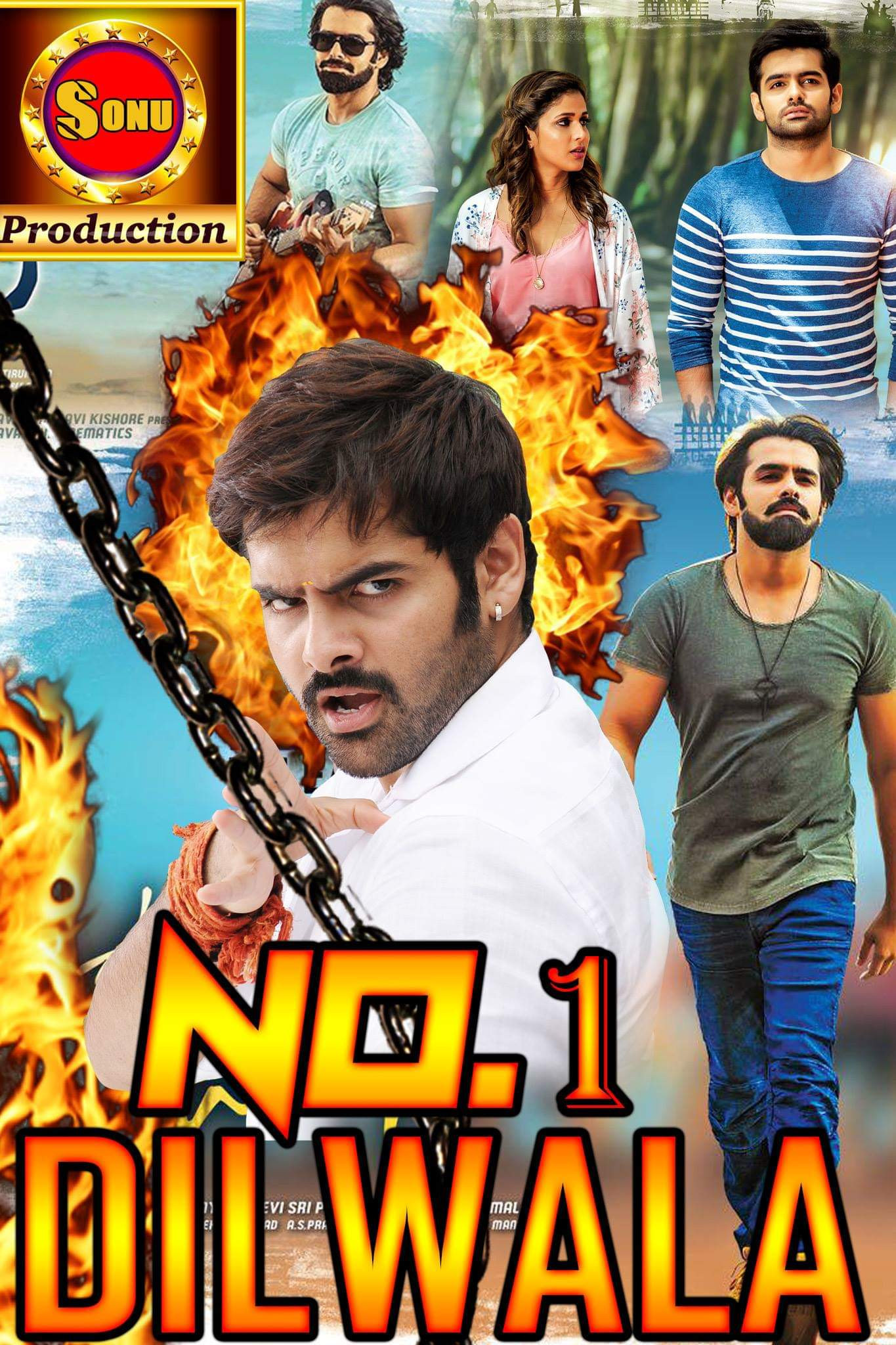 No.1 Dilwala (Vunadhi Okate Zindagi) 2019 Hindi Dubbed 400MB HDRip 480p