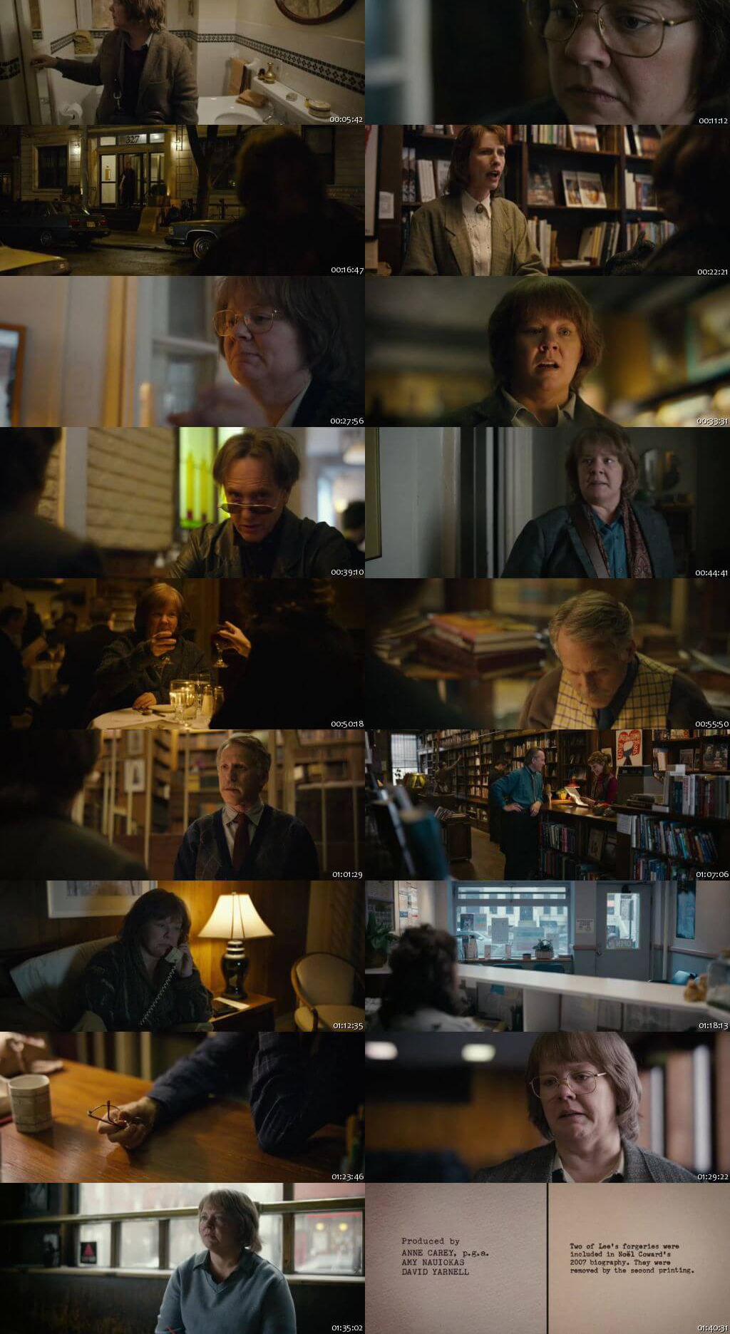 Can You Ever Forgive Me 2018 English 200MB