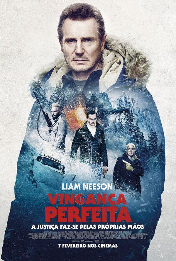 Cold Pursuit (2019) English 300MB HDCAM-Rip 480p