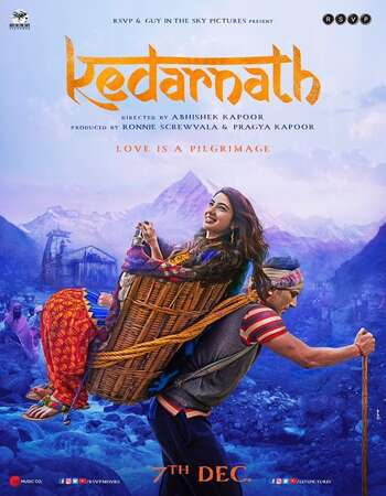 Kedarnath (2018) Hindi 400MB HDRip 480p