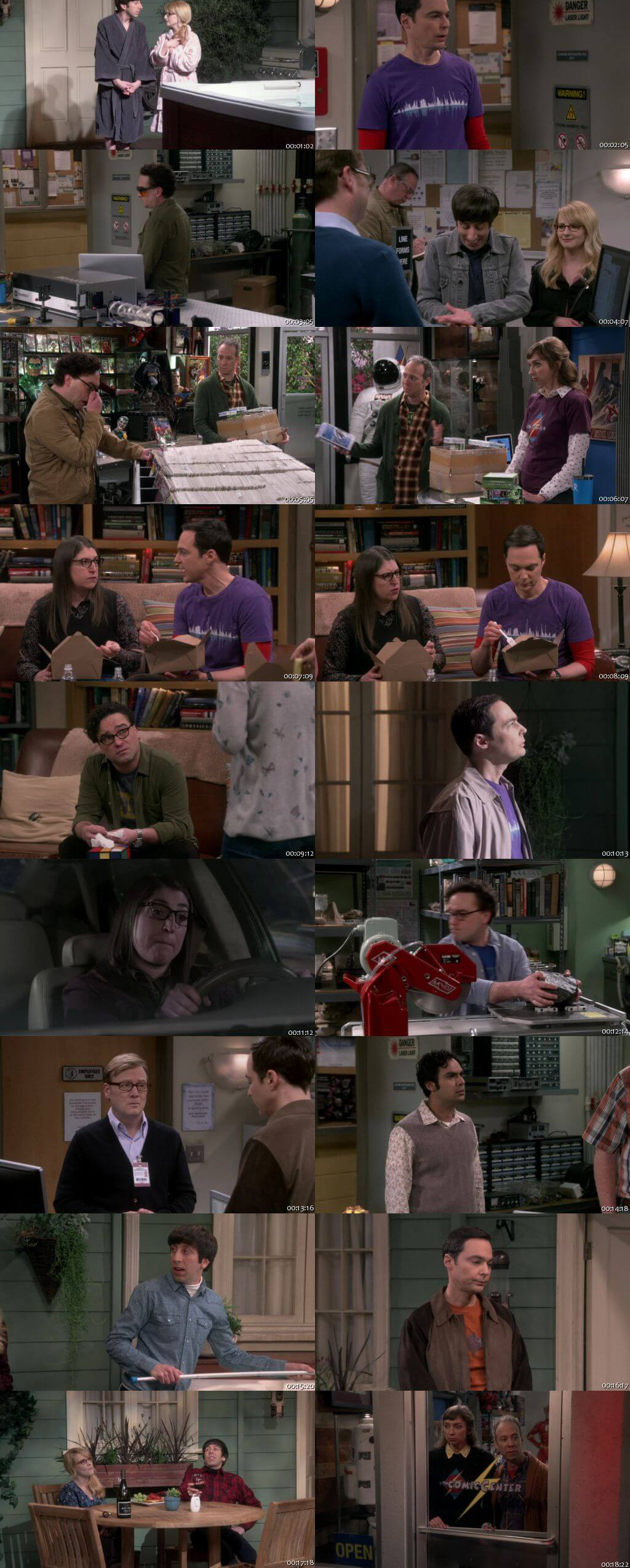 The Big Bang Theory S12E14 150MB