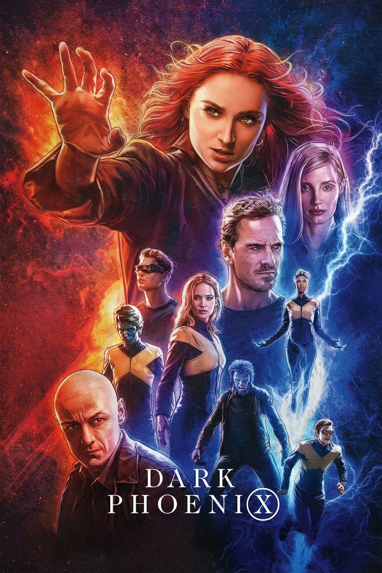 X-Men Dark Phoenix (2019) Dual Audio Hindi 400MB HC HDTS 480p