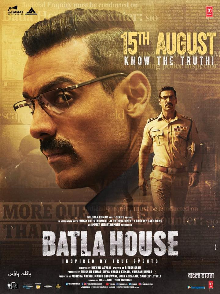 Batla House 2019 Hindi Movie 600MB pDVDRip