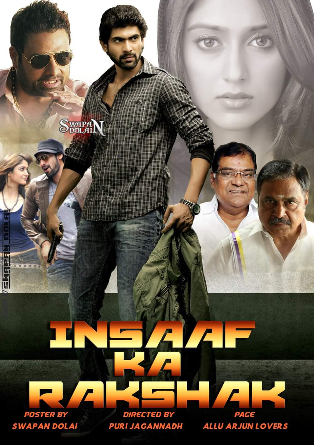 Insaaf Ka Rakshak (Nenu Naa Rakshasi) 2019 Hindi Dubbed 720p HDRip 900MB