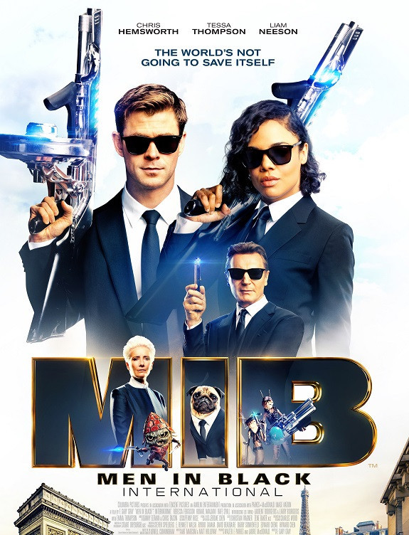 Men in Black International 2019 Dual Audio Hindi 450MB HDRip