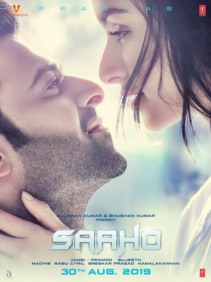 Saaho 2019 Hindi Movie 720p DVDScr 999MB