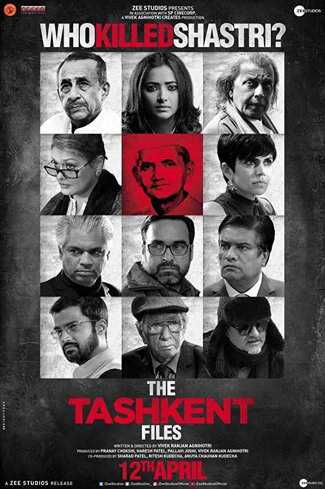 The Tashkent Files 2019 Hindi 720p Proper HDRip 999MB