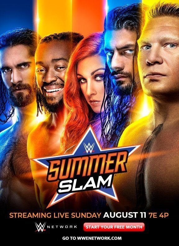 WWE SummerSlam 2019 English PPV Readnfo Full Show 600MB HDRip