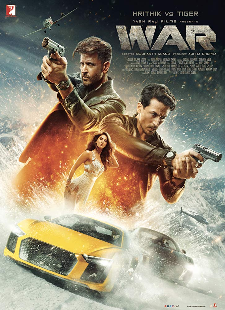 War (2019) Hindi Movie 720p HDRip 300MB