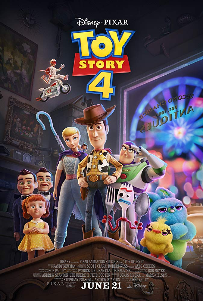Toy Story 4 (2019) English Movie 350MB HDRip ESubs