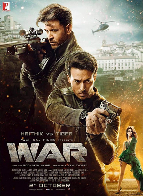 War 2019 Hindi Movie DVDScr 400MB