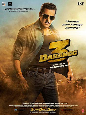 Dabangg 3 (2019) Hindi 480p WEB-DL 400MB