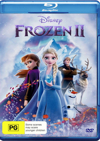Frozen 2 (2019) English 480p BRRip 300MB
