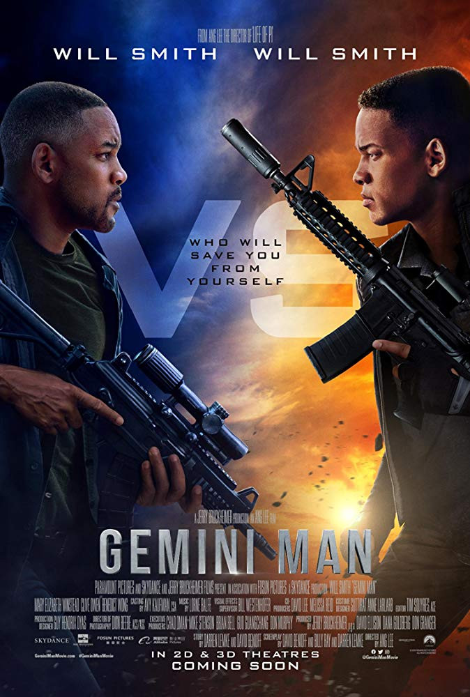 Gemini Man 2019 3D Hindi Dual Audio 720p BluRay 900MB ESubs