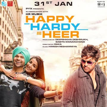 Happy Hardy And Heer 2020 Hindi 480p pDVDRip 400MB