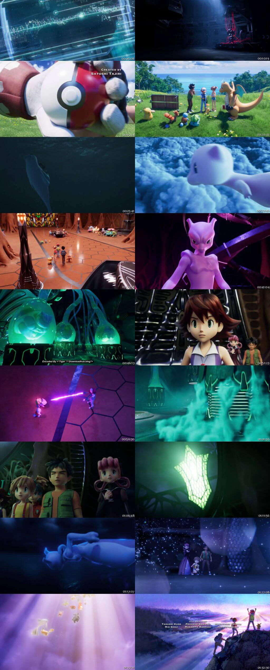 Pokemon Mewtwo Strikes Back Evolution 2019 Hindi