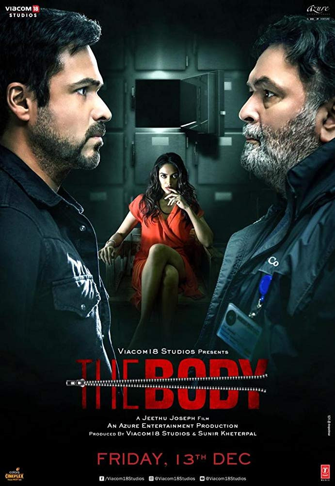 The Body 2019 Hindi Movie 720p HDRip 910MB ESub